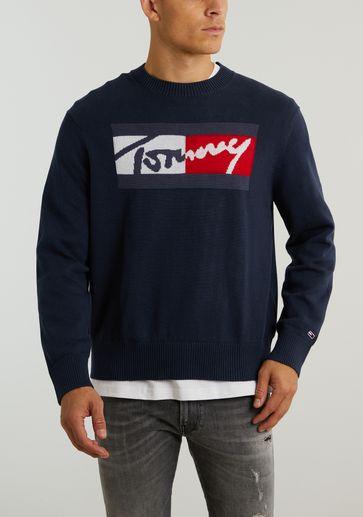 Tommy Jeans TJM Branded Sweater