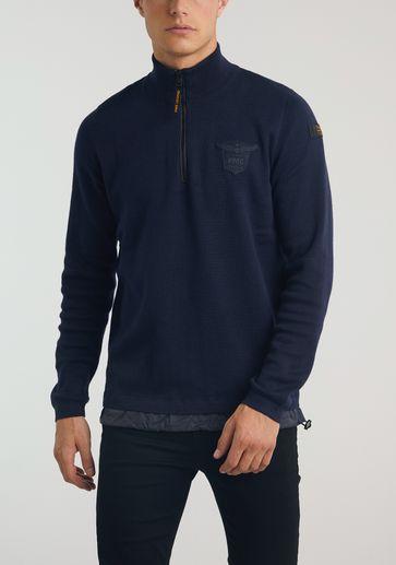 PME Legend Half Zip Collar Cotton