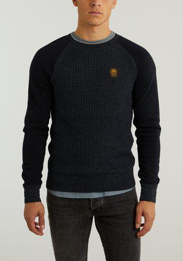 PME Legend R-neck Knit Sweat Combination