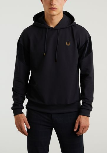Fred Perry Velour Hooded Sweat