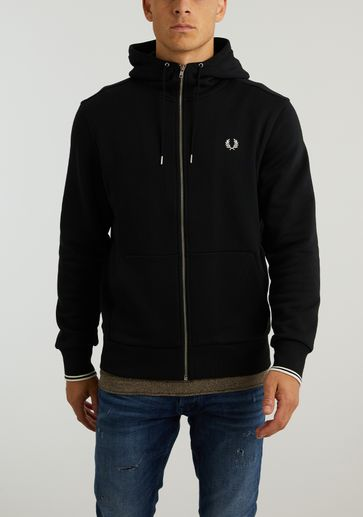 Fred Perry Hooded Zip Sweat