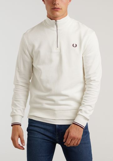 Fred Perry Half Zip Sweat