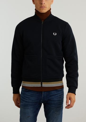 Fred Perry Striped Hem Track