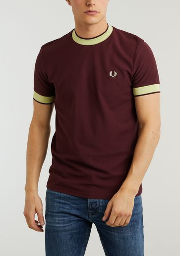 Fred Perry Crepe jersey t-shirt