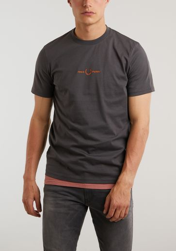 Fred Perry Embroidred T-shirt
