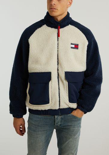 Tommy Jeans TJM Reversible Sherpa Jacket
