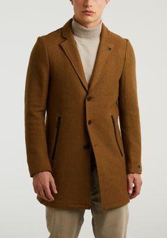 Cast Iron Long jacket boiled wool roadture