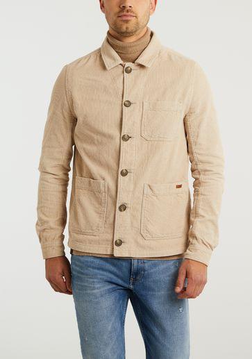 Cast Iron Button Jacket Cordur
